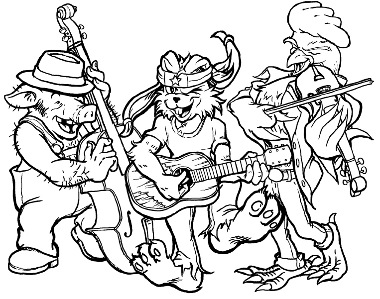The Band inks